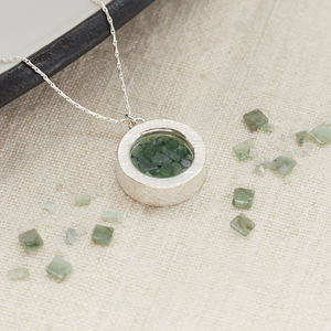Emerald Birthstone Locket Necklace - necklaces & pendants