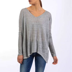 Angel Top Long Sleeve Mottle Dye