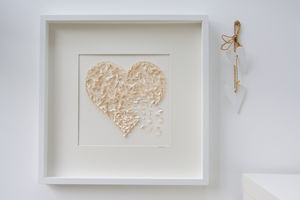 Butterfly Champagne Heart Original Picture - home accessories