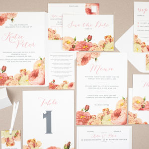 'Anthi' Wedding Stationery Collection - invitations