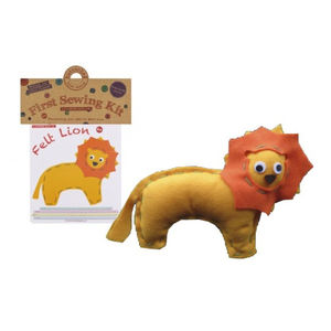 Make Your Own Lion Sewing Kit