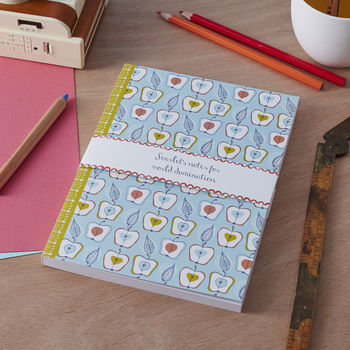 Personalised 'Fruit Stand' Notebook