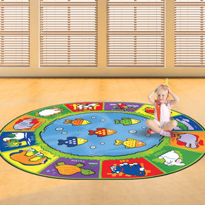 Child's Animals Design Floor Rug