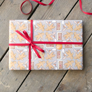 Sweet Christmas Wrapping Paper Set - cards & wrap
