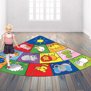 Child's Chinese Zodiac Floor Rug