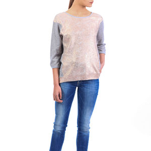Sami Foil Print Sweater - jumpers & cardigans