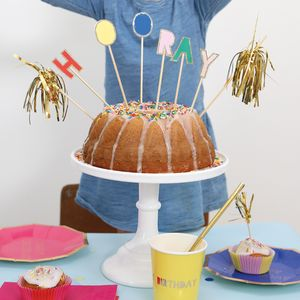 Hooray Cake Topper - cake decorations & toppers