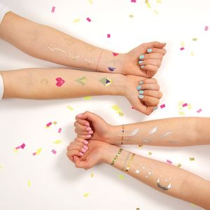 Patterned Temporary Tattoos - summer beauty & toiletries