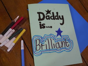 Daddy Is Personalise Your Father's Day Card