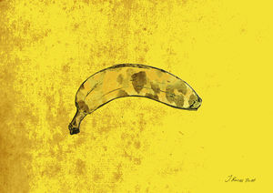 A Banana Limited Edition Signed Print - limited edition art