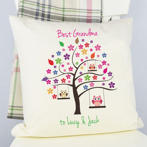 Personalised 'Best Grandma' Cushion - cushions
