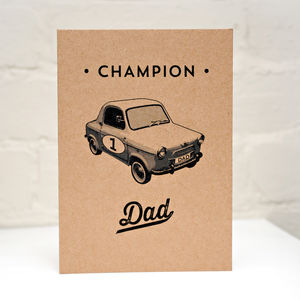 Champion Dad Father's Day Card