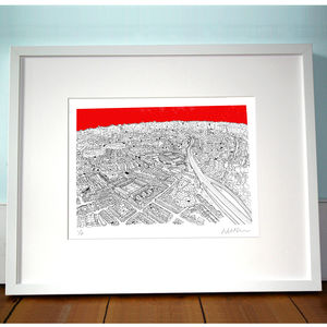 Highbury North London Print
