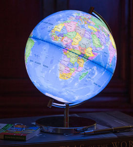 Light Up Globe Of The World - lighting