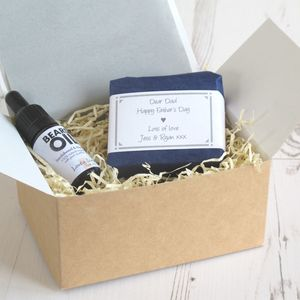 Personalised Men's Grooming Gift Set