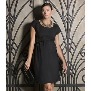 Black Maternity Party Dress - women's fashion