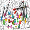 Colouring Oddbods Poster