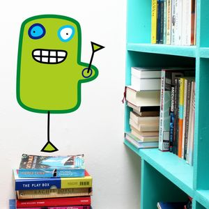 Wall Sticker Mr Beamish - wall stickers