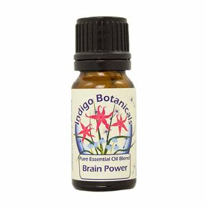 Brain Power Pure Essential Oil Blend - massage & aromatherapy