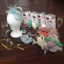 Hat Making Party Sewing Kits Pastel Colours