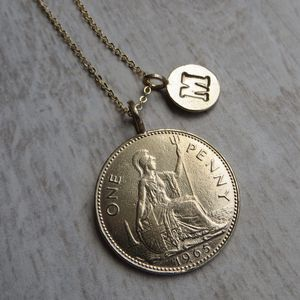 Lucky Penny Necklace - women's jewellery