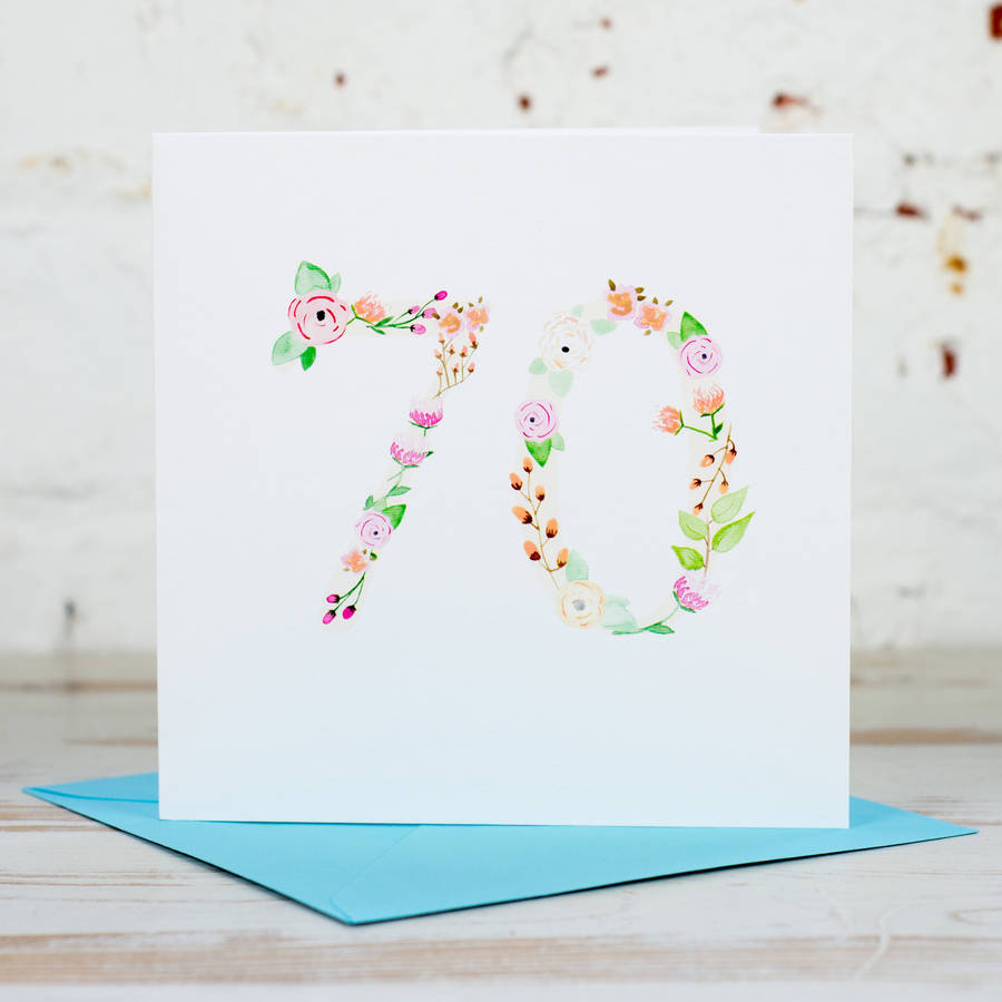 It is an image of Dramatic Free Printable 70th Birthday Cards