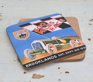 Brooklands 500 Miles Race 1935 Coaster