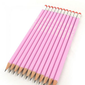 Personalised Premium Pink Pencils - personalised