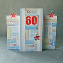 Personalised 18th, 30th, 40th 50th, 60th, Or 70th Card