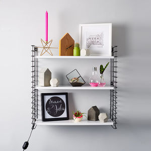 Mid Century Style Tomado Wall Shelves - home decorating