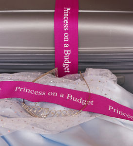 Princess On A Budget Luggage Strap