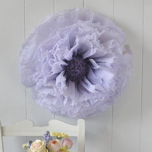 Giant Purple Ombre Paper Flower Anemone