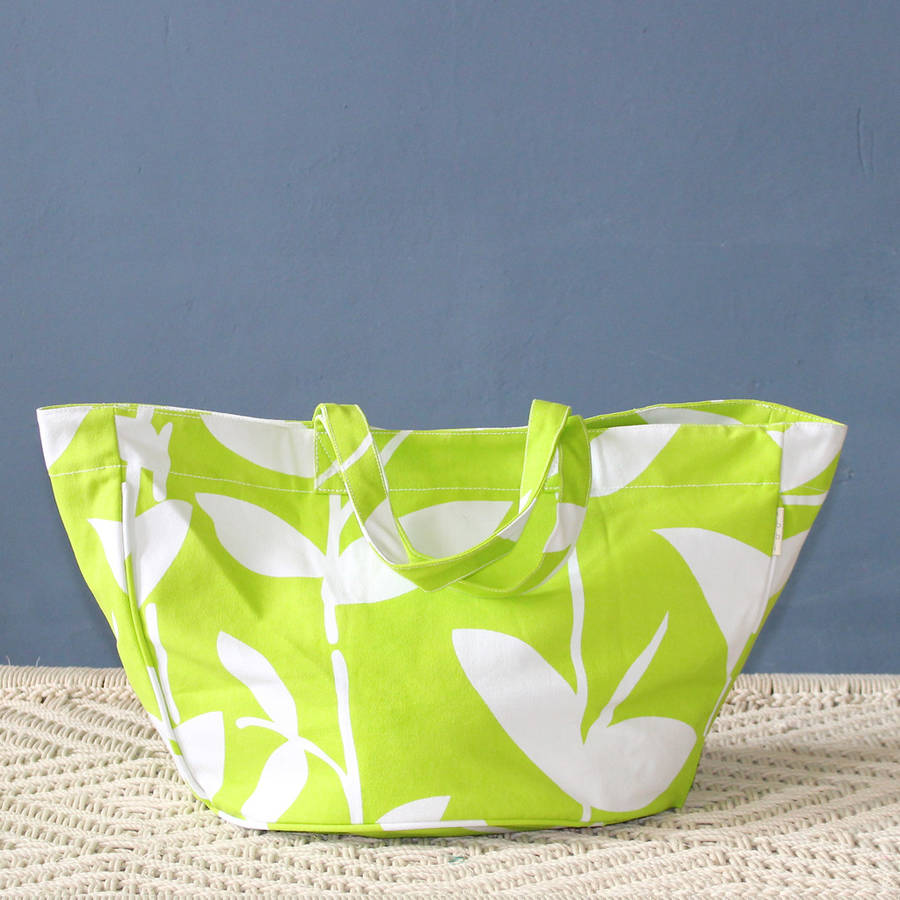 bella beach bag by ibbi direct ltd | notonthehighstreet.com