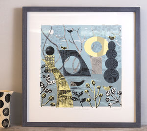 Sculpture Garden Limited Edition Silkscreen Print