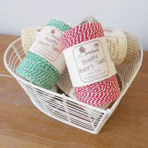 Baker's Twine Reel - ribbon & wrap