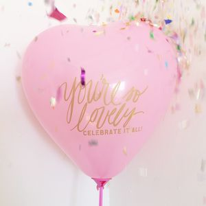 'You're So Lovely' Pink Heart Balloon - view all sale items