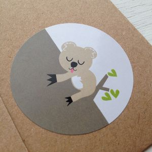 Koala Stickers - party bags and ideas
