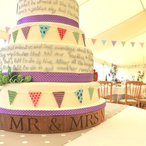 The Wedding Cake Stand - mr & mrs