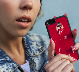 iPhone Case Waxchick Red