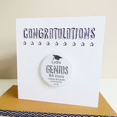 Graduation Card With Badge - cards
