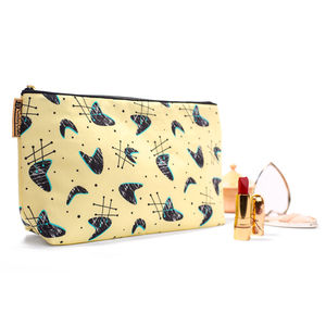 Atomic Blonde Retro Style Wash Bag