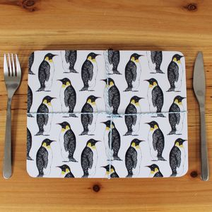 Penguin Placemat Set