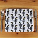 Penguin Christmas Placemat Set