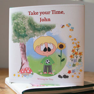 Personalised Take Your Time Book - books