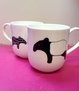 Giant Bone China Tapir Cup