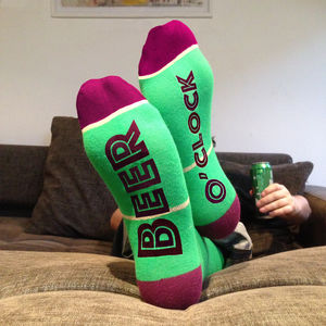 Feet Up Socks Range - stocking fillers under £15
