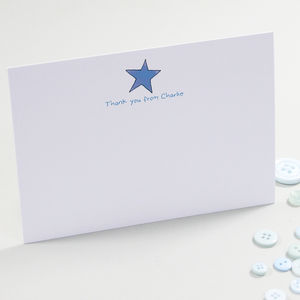 Personalised Children's Thank You Cards - thank you cards