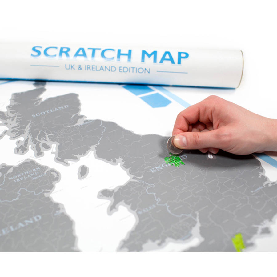 scratch map uk and ireland by luckies. Black Bedroom Furniture Sets. Home Design Ideas