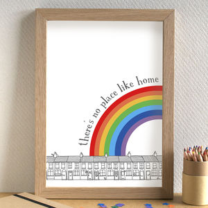 'There's No Place Like Home' Print - posters & prints