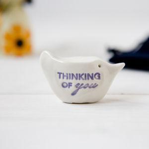 'Thinking Of You' Gift Bird
